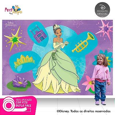 Painel de festa Decorativo A Princesa e o Sapo -2,20 x 1,45m