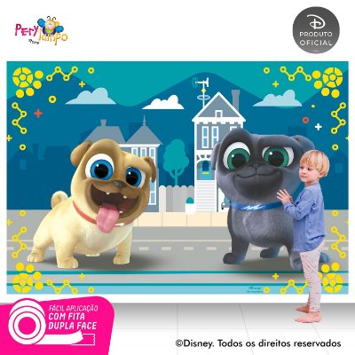 Painel de festa Decorativo - Puppy Dog Pals - 2,20 x 1,45m