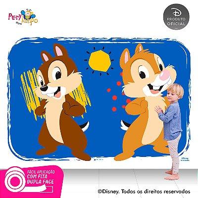 Painel de festa Decorativo - Tico e Teco - 2,20 x 1,45m