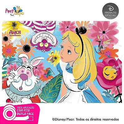 Painel Decorativo Alice no País das Maravilhas 1,45 x 1,00m
