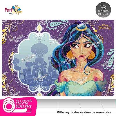 Painel Decorativo Aladdin - Jasmine Conceito - 1,45m x 1,00m