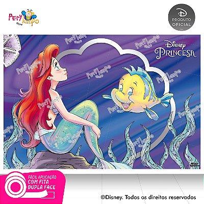 Painel Decorativo Pequena Sereia -Ariel 30 anos -1,45mx1,00m