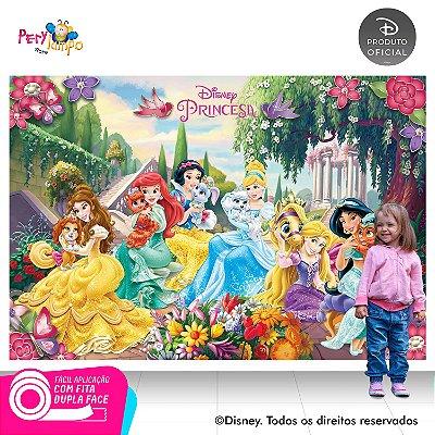 Painel Decorativo - Princesas Disney Pets - 1,45x1,00m