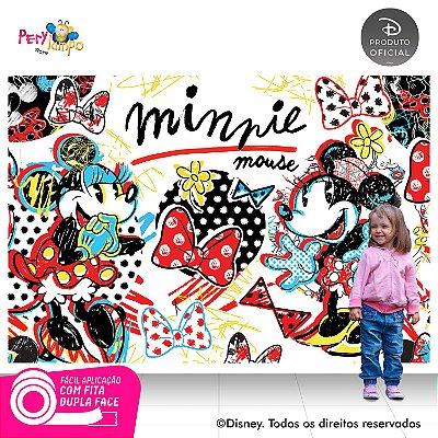 Painel de festa Decorativo - Minnie Conceito - 2,20 x 1,45m