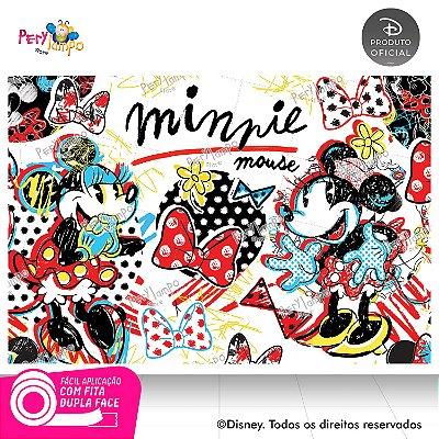 Painel de festa Decorativo - Minnie Conceito - 1,45 x 1,00m
