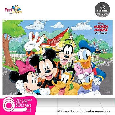 Painel festa Decorativo Mickey e Amigos - 1,45m x 1,00m