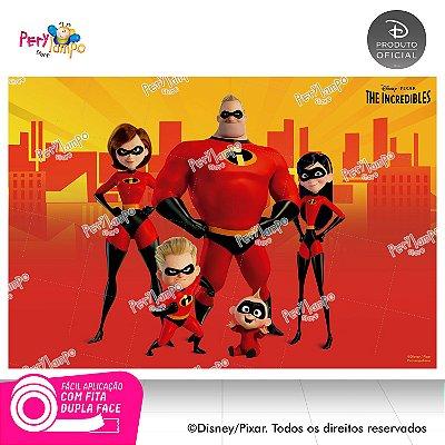 Painel festa Decorativo Os Incríveis - 1,45 x 1,00m
