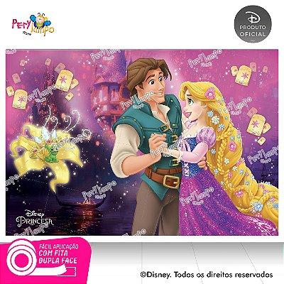 Painel Decorativo Enrolados - Rapunzel Flynn Rider-1,45x1,00m