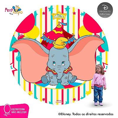 Painel festa Decorativo Redondo - Dumbo - 2,10D