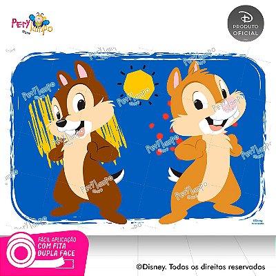 Painel de festa Decorativo - Tico e Teco - 1,45 x 1,00m