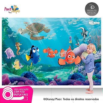 Painel de festa Decorativo - Procurando Nemo - 2,20 x 1,45m
