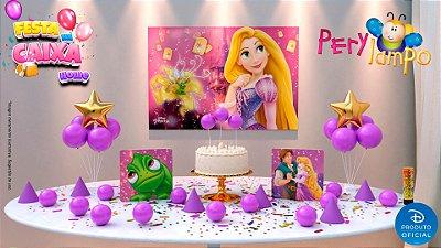Kit Festa na Caixa HOME - Enrolados Rapunzel