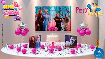 Kit Festa na Caixa HOME - Frozen 2 Turma