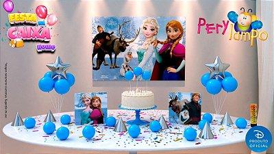 Kit Festa na Caixa HOME - Frozen Clássico