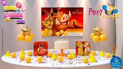 Kit Festa na Caixa HOME - O Rei Leão