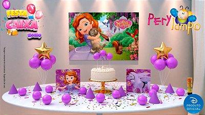 Kit Festa na Caixa HOME - Princesa Sofia
