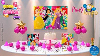 Kit Festa na Caixa HOME - Princesas Atitude que brilha