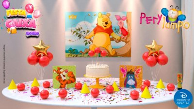 Kit Festa na Caixa HOME - Pooh