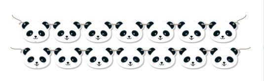 Faixa Decorativa Panda
