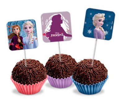 Picks Decorativos Frozen II