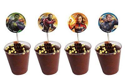 Colherzinha Com Enfeite Avengers Endgame