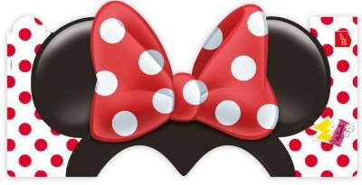 Chapéu Orelhas da Minnie Vermelha - Disney
