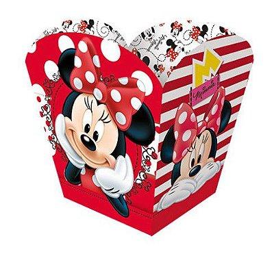 Cachepot Minnie Vermelha - Disney