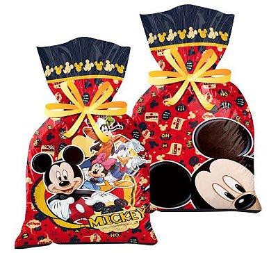Sacola Surpresa Plástica Mickey Clássico - Disney