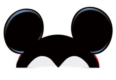Chapéu Orelhas Mickey Clássico - Disney