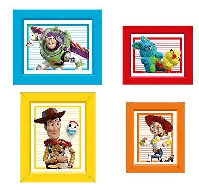 Quadrinhos Decorativo Retangular Toy Story 4