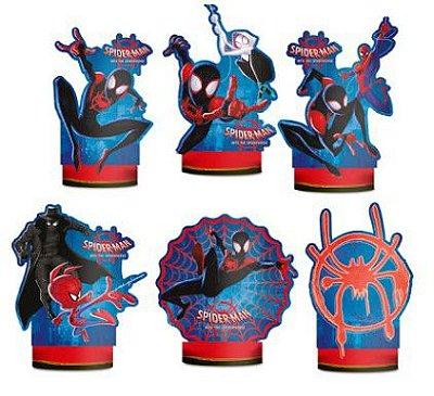 Decoração De Mesa Homem Aranha Spider-Man Verse