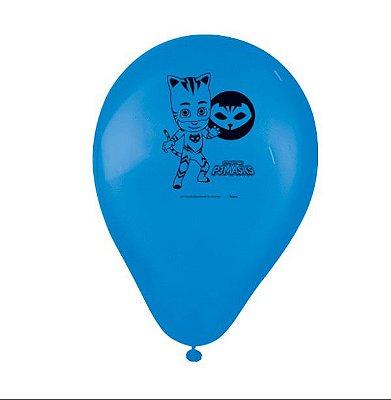 "Balões Látex 9"" Sortidos PJ Masks"