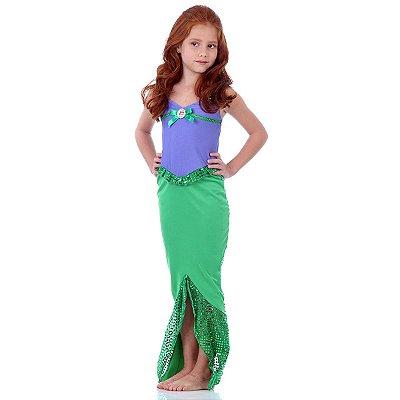 Fantasia Pequena Sereia - Ariel