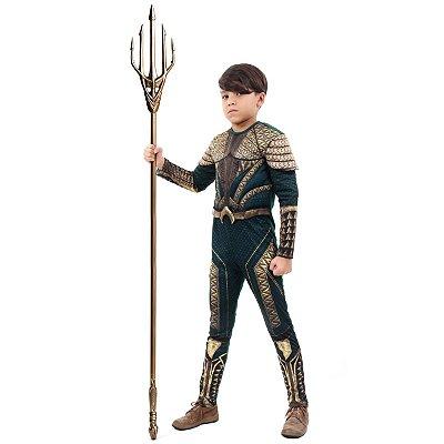 Fantasia Aquaman Luxo - Liga da Justiça