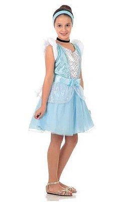 Fantasia Cinderela Verão - Princesa Disney