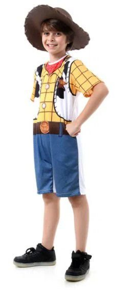 Fantasia infantil Toy Story  Woody Curto - Disney