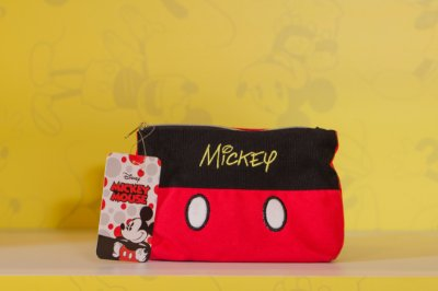 Necessaire Roupa Mickey - 12 X 14 cm - Disney