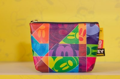 Necessaire Mickey Faces 90 anos 17 x 5 x 22 - Disney