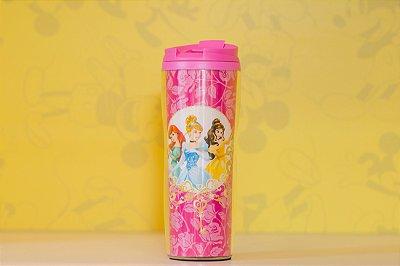 Copo Térmico Princesas Rosa - Disney