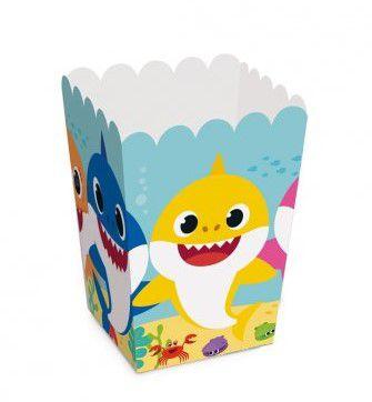 Caixa Para Pipoca Baby Shark