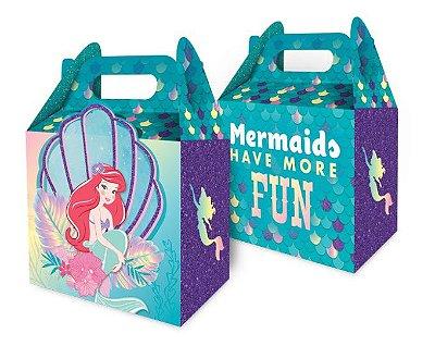 Caixa Surpresa Maleta Ariel Pequena Sereia - Disney
