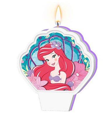 Vela Plana Ariel Pequena Sereia - Disney