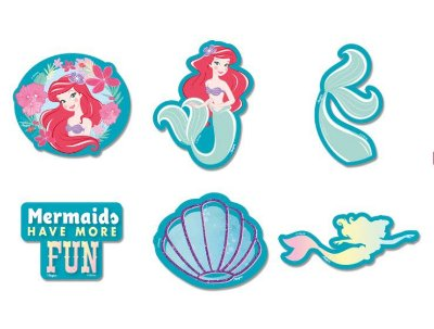 Mini Personagem Decorativo Ariel Pequena Sereia - Disney