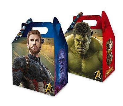 Caixa Surpresa Maleta Avengers Infinity War