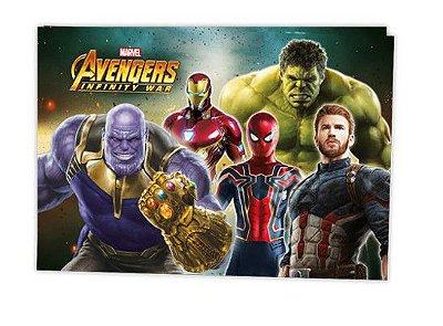 Painel Decorativo Avengers Endgame