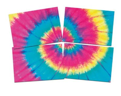 Painel Decorativo Tie Dye
