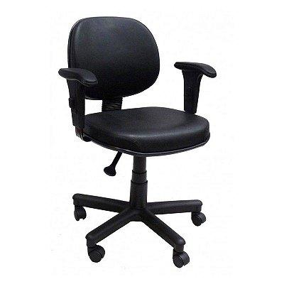 Cadeira executiva aço mola com braço