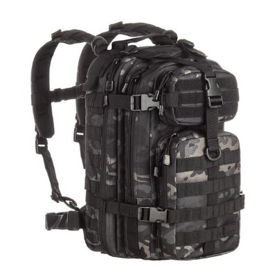 MOCHILA ASSAULT MULTICAN BLACK 30 LITROS