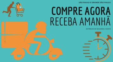 COMPRE AGORA RECEBA AMANHÃ