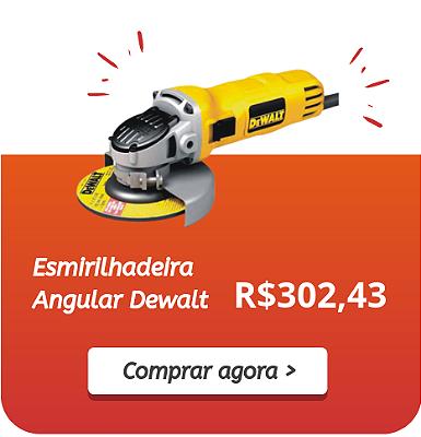 Mini Banner - Esmirilhadeira Angular Dewalt